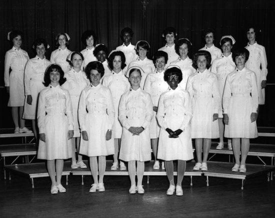 'Geechee. Armstrong's nursing class of 1971.