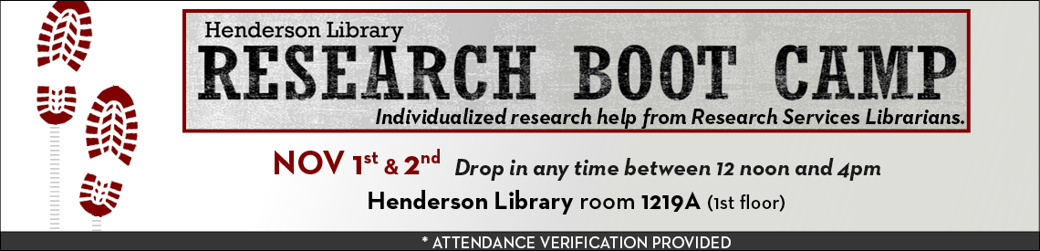Research Boot Camp