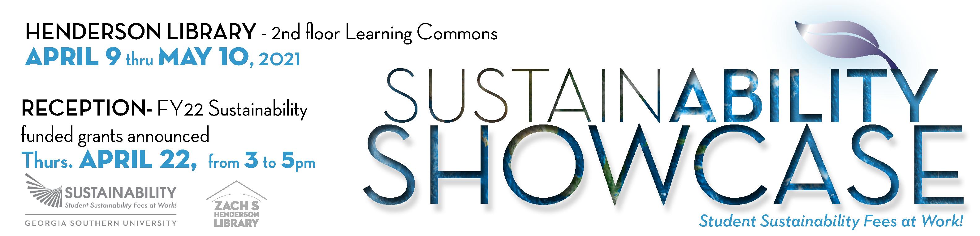 Sustainability Showcase dates