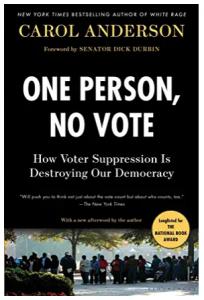One Person, No Vote book image, by Carol Anderson
